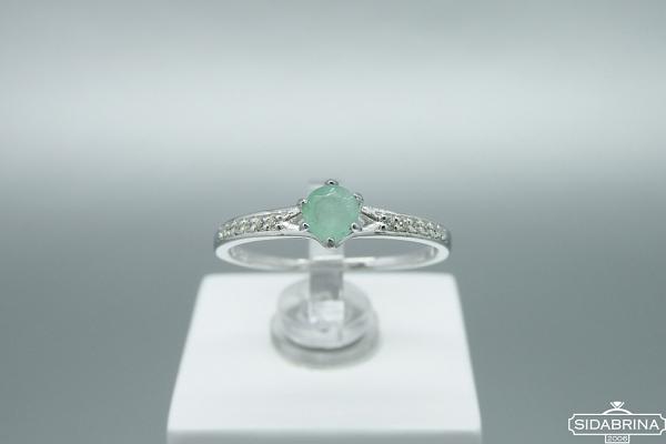 Žiedas su berilu - ZDM1351