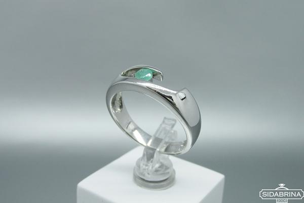 Žiedas su berilu - ZDM1496