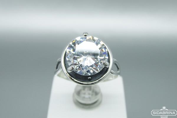 Žiedas su cirkoniu - ZDM1026