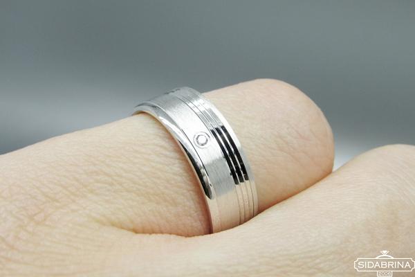Žiedas su cirkoniu - ZDM1132
