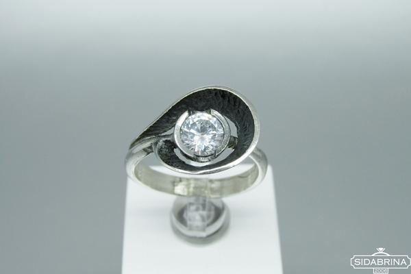 Žiedas su cirkoniu - ZDM1329