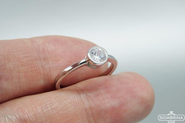 Žiedas su cirkoniu - ZDM1330