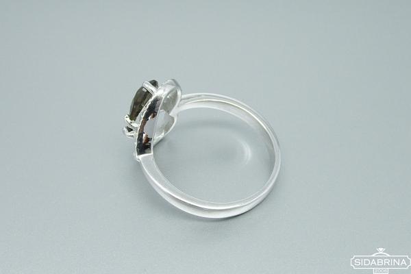 Žiedas su dūminiu kvarcu - ZDM850