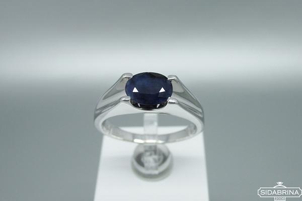 Žiedas su korundu - ZDM1495