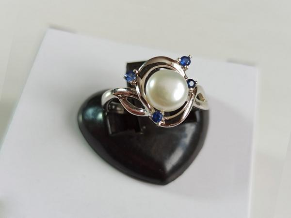 Žiedas su korundu - ZDM1565