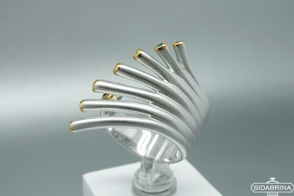Žiedas su natūraliais akmenimis - ZDM1190