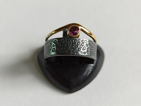 Žiedas su rodolitu - ZDM1593