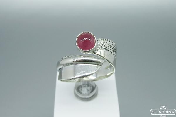 Žiedas su turmalinu - ZDM1401