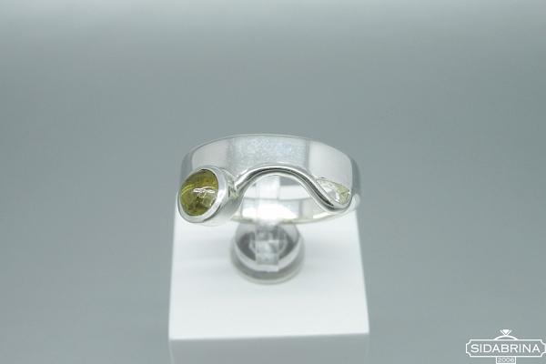 Žiedas su turmalinu - ZDM1426
